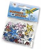 Bringmann folia 1243 - Schmucksteine Sterne, 350 stück, farben sortiert