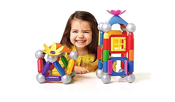 SmartMax SMX 511 Home Sweet Home Set 46 Jeu de contruction magnétique: Amazon.fr: Jeux et Jouets