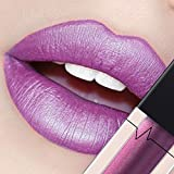 CICIYONER Damen Metall Lippenstift Lip Gloss Liquid Lippe Kosmetik, 24 Farben (05 #)