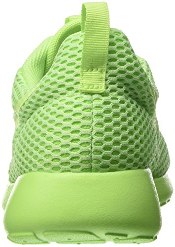 Nike Women's Roshe One Hyperfuse Br Shoe, Baskets Femme Vert (Ghost Green/Ghost Green/Electric Green)