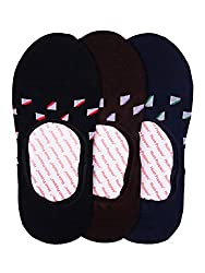 Hush Puppies Mens Loafers No-Show Ankle Soft Combed Cotton Pack of 3 Pair Socks