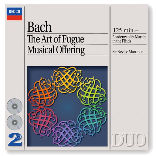 J.S. Bach: Musical Offering, BWV 1079 - Edition and instrumentation: Sir Neville Marriner - Quaerendo invenietis: Canon a 2