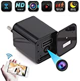 M S TECH WiFi HD Video Charger Spy Camera Series 2 Operate with Your Mobile Anywhere Anytime, Motion Detection, Audio and Live Streaming, for Home Office, Room, Meeting, Pet, Nanny Cam