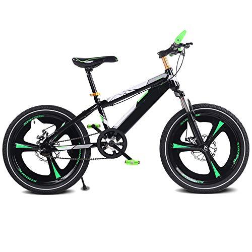 XWDQ Freni A Disco da 16/18/20 Pollici per Auto da Studente per Mountain Bike Scioccanti Bicicletta per Bambini A Singola velocità,18inch