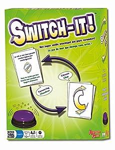 University Games-81117-Juego de Acción y de Reflejos-Switch-It-, Multicolor
