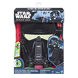 Star Wars Rogue One Mascara electronica Death Trooper, Multicolor, única (Hasbro C0364EU4)