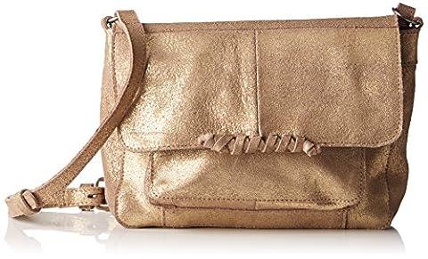 PIECES Pcmusta Leather Cross Over Bag, Sacs portés épaule femme,