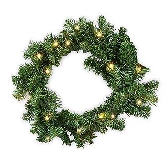 VGO 5M Weihnachtsgirlande Tannengirlande Girlande Weihnachtsdeko Weihnachts Girlande Grün für In-/ Outdoor Bereich