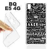 K238Case Cover bq E54G Soft TPU Gel Brands of Cars Cars Motor