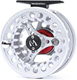 Maxcatch BLC Fly Reel,Large Arbor Fly Fishing Reel with Diecast Aluminum Body(3/4,5/6, 7/8wt)