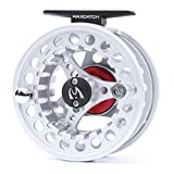 Maxcatch Diecast Trout Fly Reel Large Arbor for Fly Fishing 7/8weight