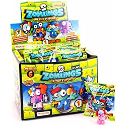 Zomlings Caja con 50 Sobres, Serie 6 (Magic Box INT. Toys ZM6P0101)