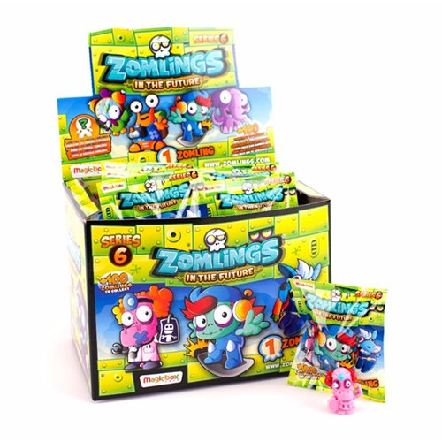 Zomlings Caja con 50 Sobres, Serie 6 (Magic Box INT. Toys ZM6P0101)
