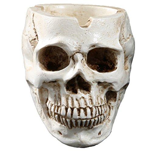 Vosarea Skull Aschenbecher Zigarette Aschenbecher Home Ornamente Bar Zubehör Raucherzimmer Dekor für Raucher - Und Home Dekor Zubehör Bar