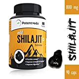 #8: Potentveda Shilajit extract Gold Plus Strength & Stamina for Men - 90 capsules (Pack of 1)