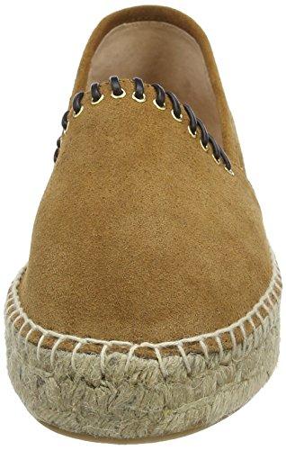 IKKS Bh80145, Espadrilles femme Marron (61/Camel)