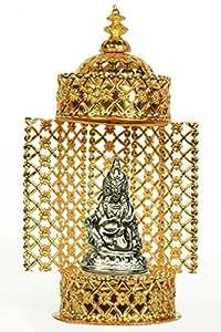 Holy Krishna's Energized Parad Statue Idol Lord Kuber + Laxmi God ATM Yantra