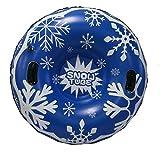 farmer-W Tubo de Nieve Inflable Trineo de Nieve, Juguetes Gruesos de Nieve inflables Material Respetuoso con el Medio Ambiente Tubo de Nieve, Suministros de esquí para niños y Adultos