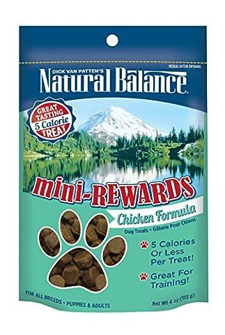 Natural Balance Mini Rewards Chicken Formula Semi-Moist Dog Training Treats 4oz