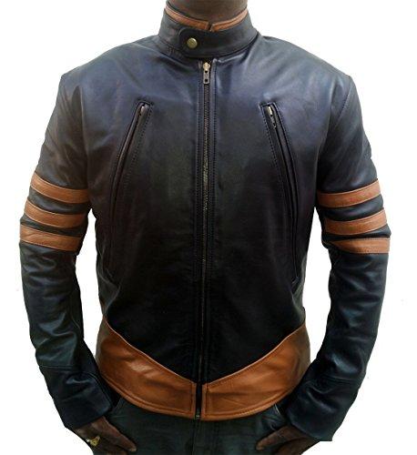 UK Finest Products X-Men Origins Wolverine Black Leather Jacket