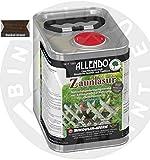 Allendo Zaunlasur 2,5 Liter Flasche Farbe: dunkel-braun