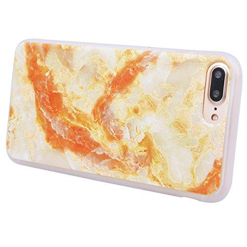 WE LOVE CASE Coque iPhone 7/ iPhone 8, Souple Gel Coque iPhone 7 Silicone Motif Fine Coque Girly Resistante, Coque de Protection Bumper Officielle Coque Apple iPhone 7 iPhone 8 Fleur D'Éléphant Marbre