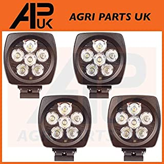 4 X 60W CREE LED Work Light Lamp 10-30V Flood Beam Digger Tractor Lorry ATV