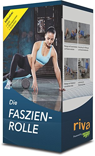 Preisvergleich Produktbild Faszien-Fitness Sportgerät und DVD Faszienrollen Paket, 9783868836462