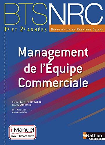 Management de l'Equipe Commerciale BTS 1re et 2e années