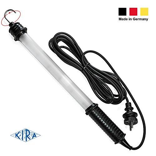 KIRA Power-LED-Handleuchte, 52,5 cm - blendfrei & schlagfest - (Made in Germany, 6x Power-LED, IP54-Schutz, 230V, 0,045A, ca. 700 Lumen, 6500K)