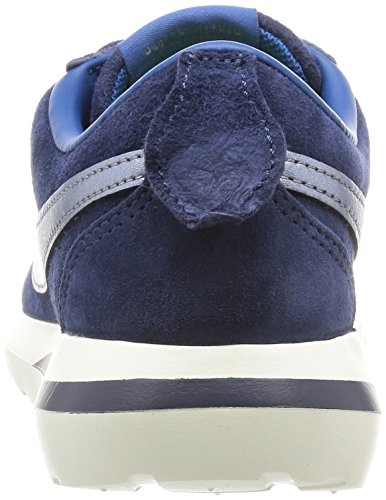 Nike - W Roshe Cortez Nm Prm Suede, Zapatos Deportivos Para Mujer Azul (azul Marino (mid Navy / Mtlc Bl Dsk-crt Bl-sl))