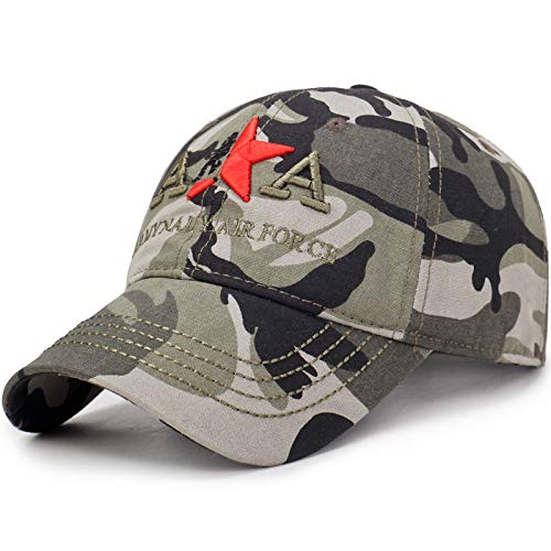 SKAMAO Baseball Kappe Baseballkappe Männer Camouflage Cap Taktische Trucker Caps Männer Navy Seal Flag Camo Baseball Caps Hysterese AA-Tarnfarbe
