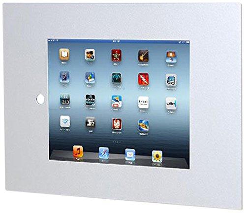 TabLines TWE051S Tablet Wandeinbau für Apple iPad Air 1, Homutton zugänglich, silber