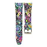 samLIKE Samsung Gear Fit2 Pro Armband Bunte Sport Silikonband Strap Band 20mm 13 Stile (B)