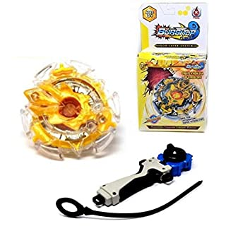 ARUNDEL SERVICES EU BURST-TOP Y1 Beyblade style Spinning Top With hand launcher Bey Blade Beyblade