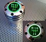 Schaltknauf mit grüner Led Beleuchtung für Fahrzeuge mit RGA mit RGA Aufnahme