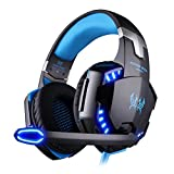 EasySMX Comfortable LED 3.5mm Stereo Gaming LED...