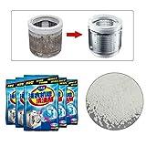 Yncc Reinigungsmittel/Waschmaschinen Hygiene-Reiniger, Waschmaschinenreiniger Entkalker Tiefenreiniger Deodorant...