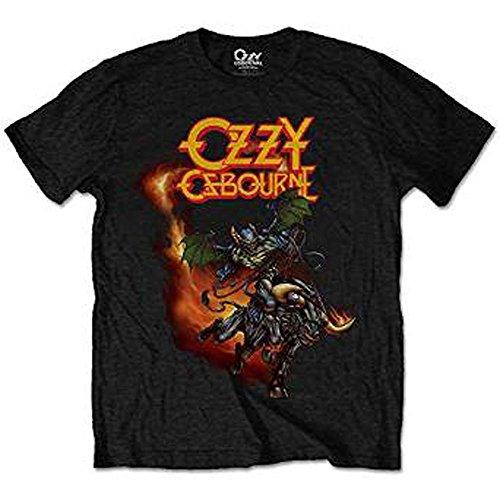 Rockoff Trade Demon Bull, T-Shirt Uomo, Nero, XX-Large