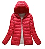 Best Warmest Winter Coats - ISSHE Womens Down Puffa Jacket With Hood Women Review