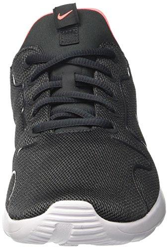 Nike Kaishi 2.0 Gs, chaussures de course garçon Noir (Anthrct/pr Pltnm-lv Glw-white)