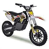 funbikes MXR 61cm Elektro-Kids Mini Dirt Bike Akku Ride On Gelb gelb