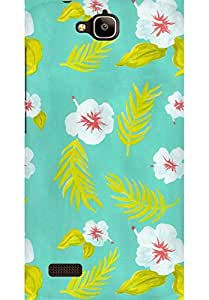 AMEZ designer printed 3d premium high quality back case cover for Huawei Honor Holly (Patten 1)