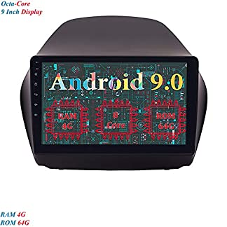 XISEDO-1-Din-9-Zoll-Android-90-Autoradio-8-Core-RAM-4G-ROM-64G-In-Dash-Car-Radio-Multitouch-Bildschirm-Autonavigation-fr-Hyundai-IX35-2010-2014