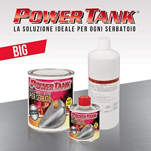 Power Tank trattamento ripara, rigenera e protegge serbatoi - KIT BIG - 1,3 kg più economico di Tankerite