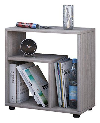 """VCM Beistelltisch Tisch Nachttisch Kaffeetisch Nachtkonsole Couchtisch Wohnzimmertisch Sonoma-Eiche 55x50x30 cm """"Zeito"""""""