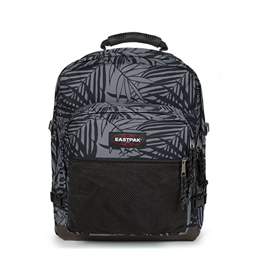 Eastpak Ultimate Sac à dos, 42 cm, 42 L, Noir (Leaves Black)