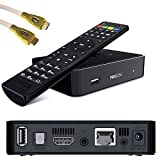 PremiumX Mag 254 Box Multimedia Player Internet TV Box IPTV Original USB HDMI HDTV+ 1m HDMI Kabel 1,4 High Speed HDMI Cable Weiss Vergoldete Stecker FULLHD 3D Ultra HD Top !!!