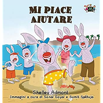Mi Piace Aiutare: I Love To Help (Italian Edition)