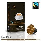 Gourmesso Lungo Arabica Forte - 10 Nespresso kompatible Kaffeekapseln - Fairtrade